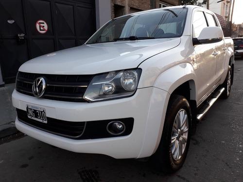 Imagen 1 de 15 de Volkswagen Amarok 2.0 Cd Tdi 4x4 Highline Pack 1hp 2011