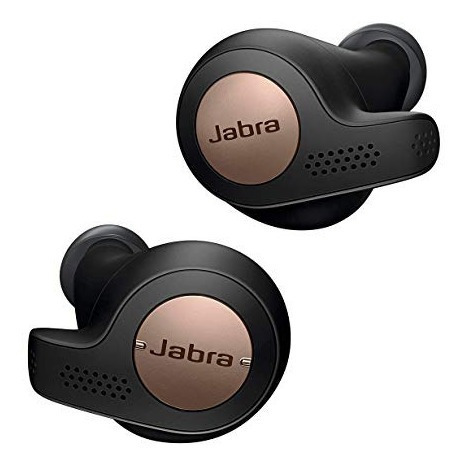 Jabra Elite Active 65t True Wireless Preto Com Bronze
