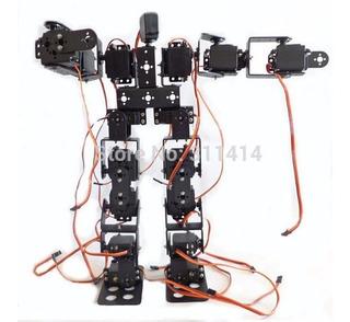 Robot 17 Gdl Mg995r Piezas Completas Humanoide