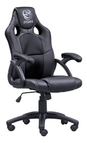Cadeira Gamer Pcyes Mad Racer V6 Pt Preta Madv6pt N. Fiscal
