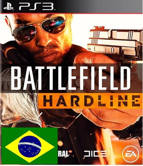 Battlefield Hardline Psn Ps3 Envio Rapido Pt-br