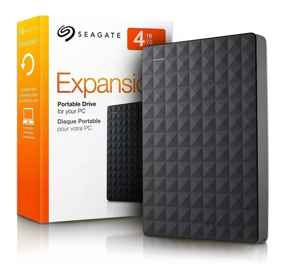 Hd Externo Seagate Expansion 4tb Usb 3.0 Ps4