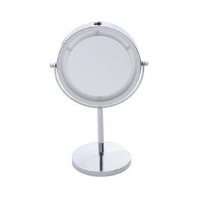 Espelho Duplo Para Banheiro Com Led 20,5cmx13,5cmx31,5 Jcwt