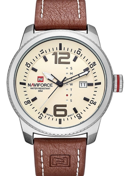 Relógio De Pulso Masculino Naviforce Original Prova D