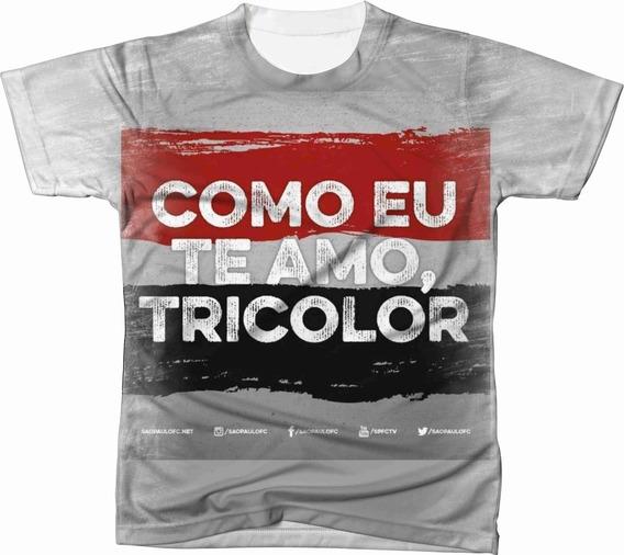 Camiseta Camisa Blusa São Paulo Futebol 007