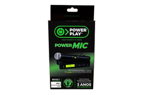 Fonte Power Play Power Mic 12v Bivolt