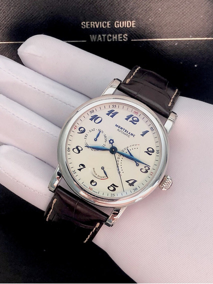 Montblanc Star Retrogade , Power Reserve , 42mm , Completo!
