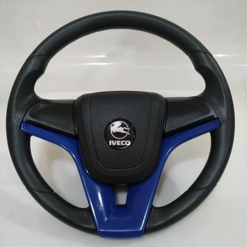 Volante Esportivo Cruze Azul 37 Cm Iveco Daily 3510 2004