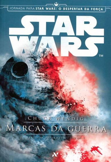 Livro Star Wars - Marcas Da Guerra Trilogia Aftermath Novo