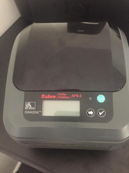 Impressora Térmica Zebra P/ Etiquetas Código Barras Gx420d