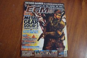 Lrv Egm Brasil 33 / Metal Gear Solid 3 / Halo 2 Gta Metroid
