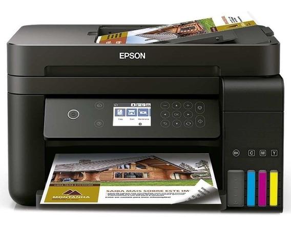 Impressora Multifuncional Epson L6191, Tanque De Tinta Com