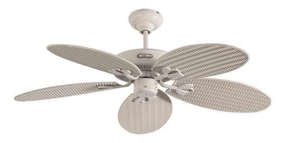 Coolfan Lampara Ventilador De Techo Exteriores Blanco 66404