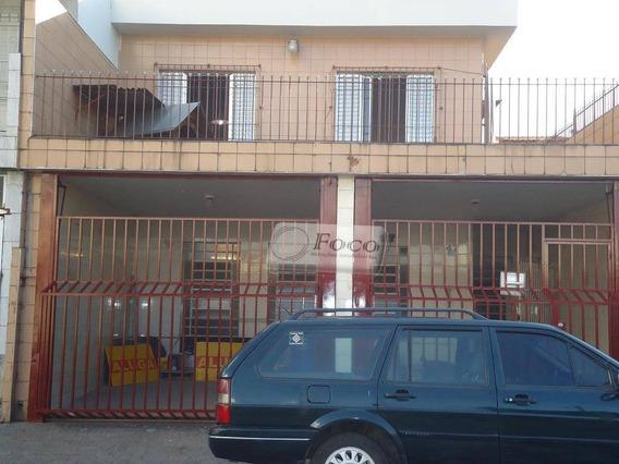 Casa Comercial Para Locação, Jardim Pinhal, Guarulhos - Ca0361. - Ca0361