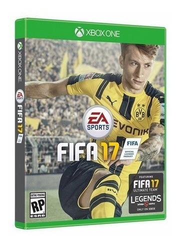 Fifa 17 (futebol) - Jogo P/ Xbox One Original - Lacrado