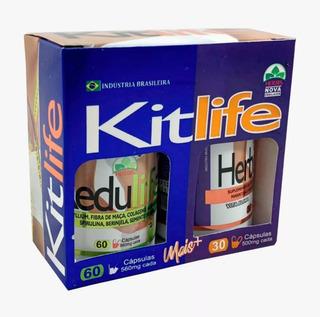 Kit Life ( Herbis + Redu ) Frete Grátis + Dicas Ao Cliente