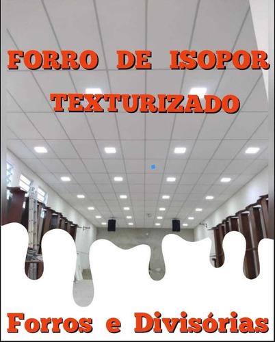 Imagem 1 de 10 de Forro De Isopor Instalado (11) 41160771   Whats 995902917