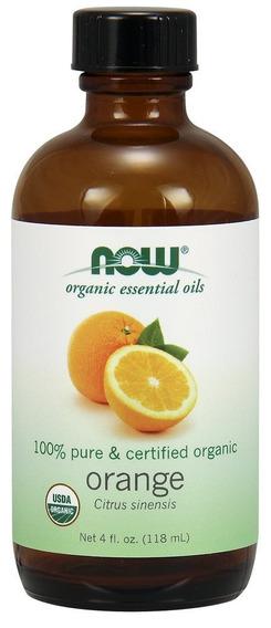 Aceite Esencial Naranja Orgánico 100% Puro 118ml Certificado