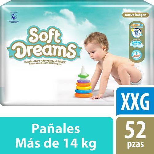 Pañales Etapa 6 Control Gel Talla Xxg 52 Piezas Soft Dreams