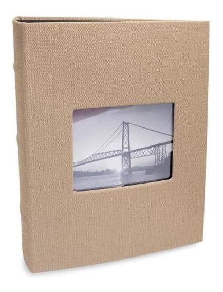 Álbum 200 Fotos 10x15 Black Caramelo Com Janela 791 Ical
