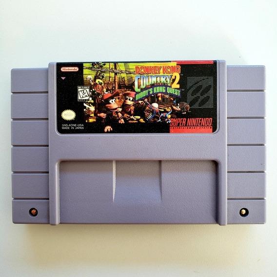 Donkey Kong Country 2 Original Snes Super Nintendo