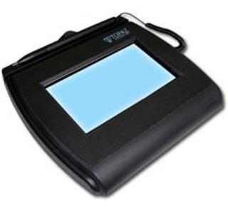 Pad Capturador De Firma Electronica Topaz T-lbk750-bhsb-r