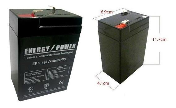 Bateria 6v 4.0ah Moto Elétrica, Carrinho Elétrico, Brinquedo