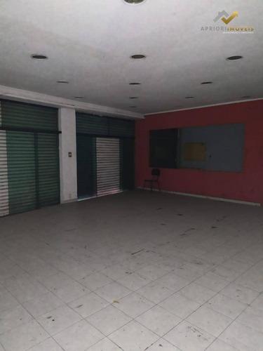 Salão Para Alugar, 1000 M² Por R$ 11.000,00/mês - Centro - Santo André/sp - Sl0052