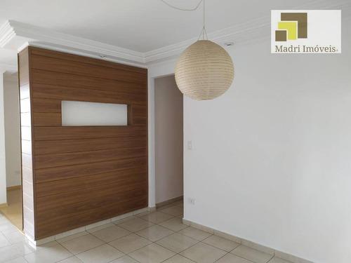 Apartamento Com 2 Dormitórios À Venda, 82 M² Por R$ 810.000,00 - Vila Hamburguesa - São Paulo/sp - Ap0883