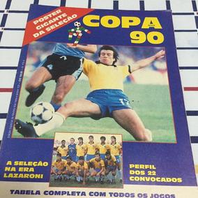 7 X Pôster Da Seleção Brasileira De Vários Anos
