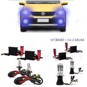 Xenon Gol Rallye Saveiro Cross G5/g6 Crossfox Farol Milh Kit
