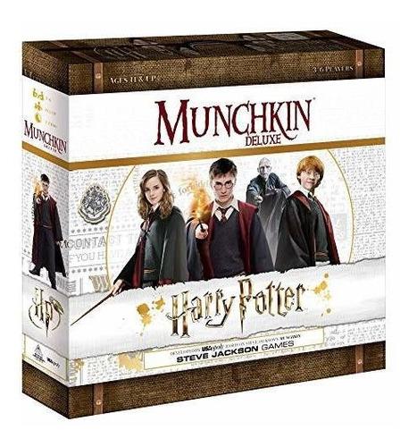 Usaopoly Munchkin Deluxe Harry Potter Juego De Mesa | Regal
