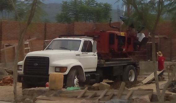 Perforadora Sobre Camión Ford