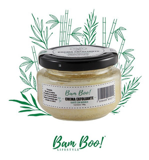 Crema Exfoliante Natural 100 G Bam Boo! Lifestyle