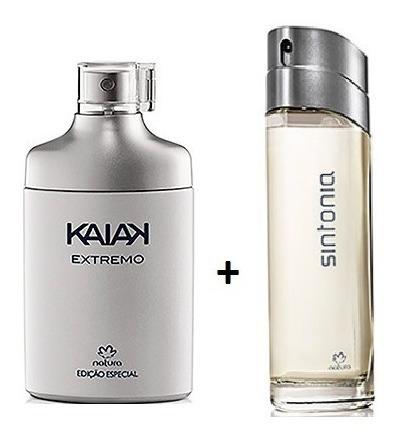 2 Perfumes Masculinos Natura: Kaiak Extremo + Sintonia