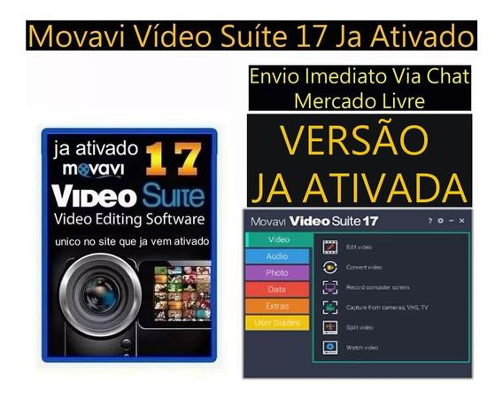 Movavi Vídeo Suíte 17 Editor E Cap Tela Fotos E Videos .