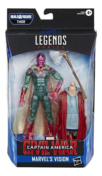 Vision, Marvel Legends, Avengers Endgame, Baf Thor