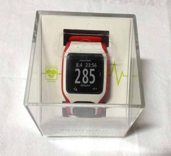 Relógio Tomtom Runner Cardio Gps Top Melhor Q Garmin Amazfit