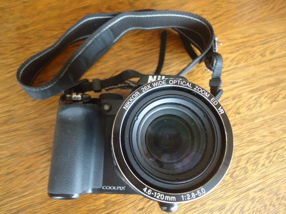 Câmera Fotográfica Nikon Coolpix P100 Semi Profissional