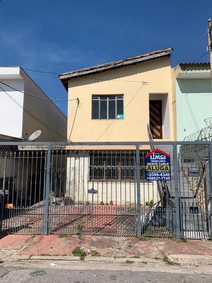 Casa Com 2 Dormitórios Para Alugar Por R$ 1.250/mês - Vila Galvão - Guarulhos/sp - Ca0317