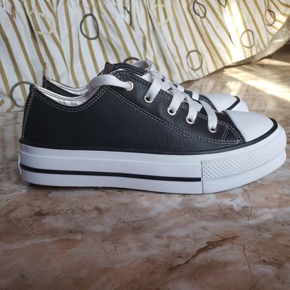 Zapatillas Negras Altas