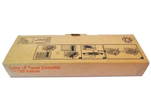Color Lp Toner Cassette Type 125 Yellow