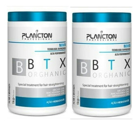 2 Botox Btx Orghanic Plancton Professional 1kg Original