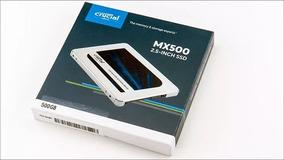 Hd Ssd 250gb Crucial 2.5 Mx500 Ct500mx500ssd1 Solid State