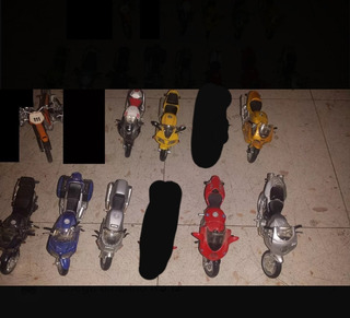 Mini-motos Maisto- Miniatura - 4 Unidades