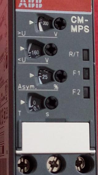 Relê De Sequência De Fase Abb Cm-mps-31 Nunca Usado