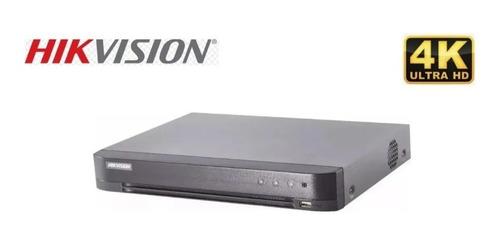 Dvr Hikvision Ds-7208hqhi-k1 Con 8 Ch 4k, Alarma, Cuotas!