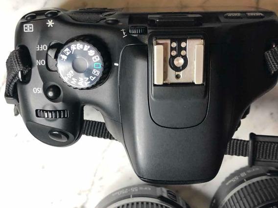 Canon Rebel T2i Com Lentes 18-55 E 55-250. Canon Eos 550d