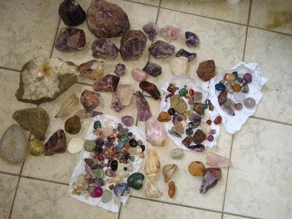 Gemas Coleçã De Pedras Semi Preciosas E Minerais Brasileiros