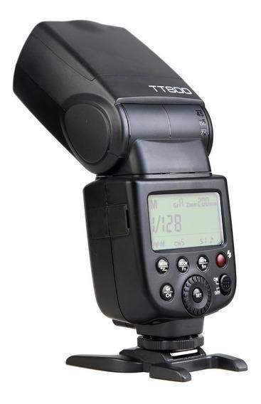 Flash Speedlite Godox Thinklite Tt600 Para Cámara De Fotos